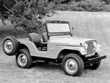 Jeep CJ-5 1954–83 wallpapers