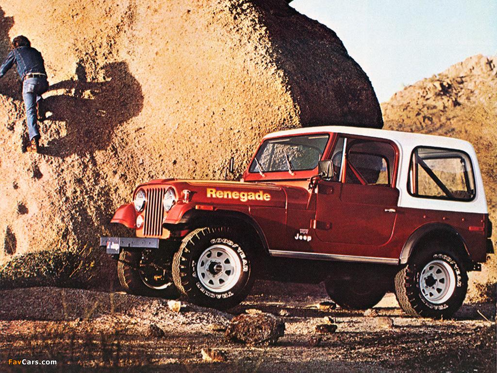 Jeep Cj 7 Renegade 197682 Photos 1024x768