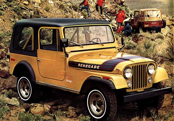 Jeep Cj 7 Renegade 197682 Wallpapers
