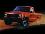 Jeep Comanche (MJ) 1984–92 pictures