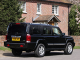 Images of Jeep Commander UK-spec (XK) 2005–10