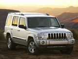Images of Jeep Commander Limited ZA-spec (XK) 2006–09