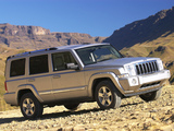 Jeep Commander Limited ZA-spec (XK) 2006–09 photos