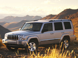 Jeep Commander Limited ZA-spec (XK) 2006–09 wallpapers