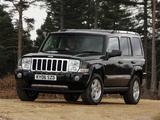 Pictures of Jeep Commander UK-spec (XK) 2005–10