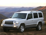 Pictures of Jeep Commander Limited ZA-spec (XK) 2006–09