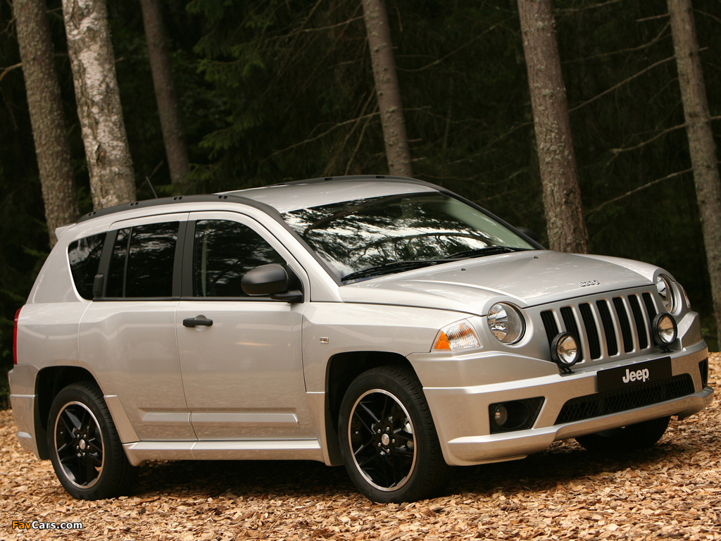 Images of Jeep Compass Rallye 2007–10 (1024 x 768)