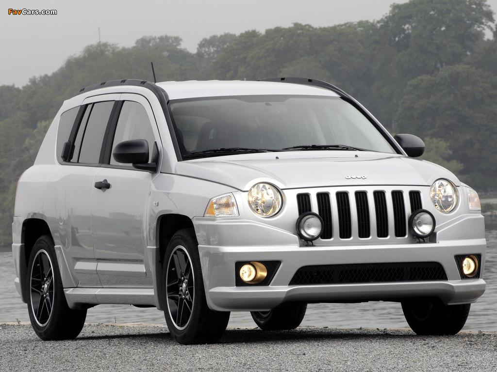 Jeep Compass Rallye 2007–10 images (1024 x 768)