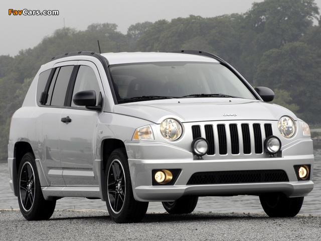 Jeep Compass Rallye 2007–10 images (640 x 480)