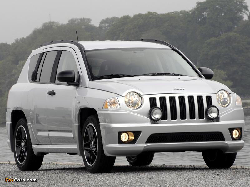 Jeep Compass Rallye 2007–10 images (800 x 600)