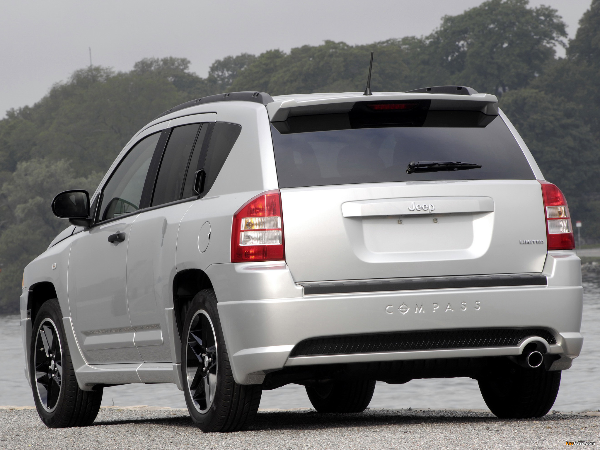 Jeep Compass Rallye 2007–10 pictures (2048 x 1536)