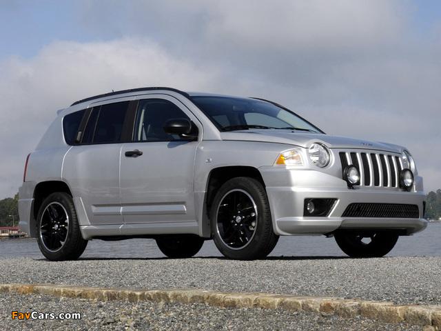 Jeep Compass Rallye 2007–10 wallpapers (640 x 480)
