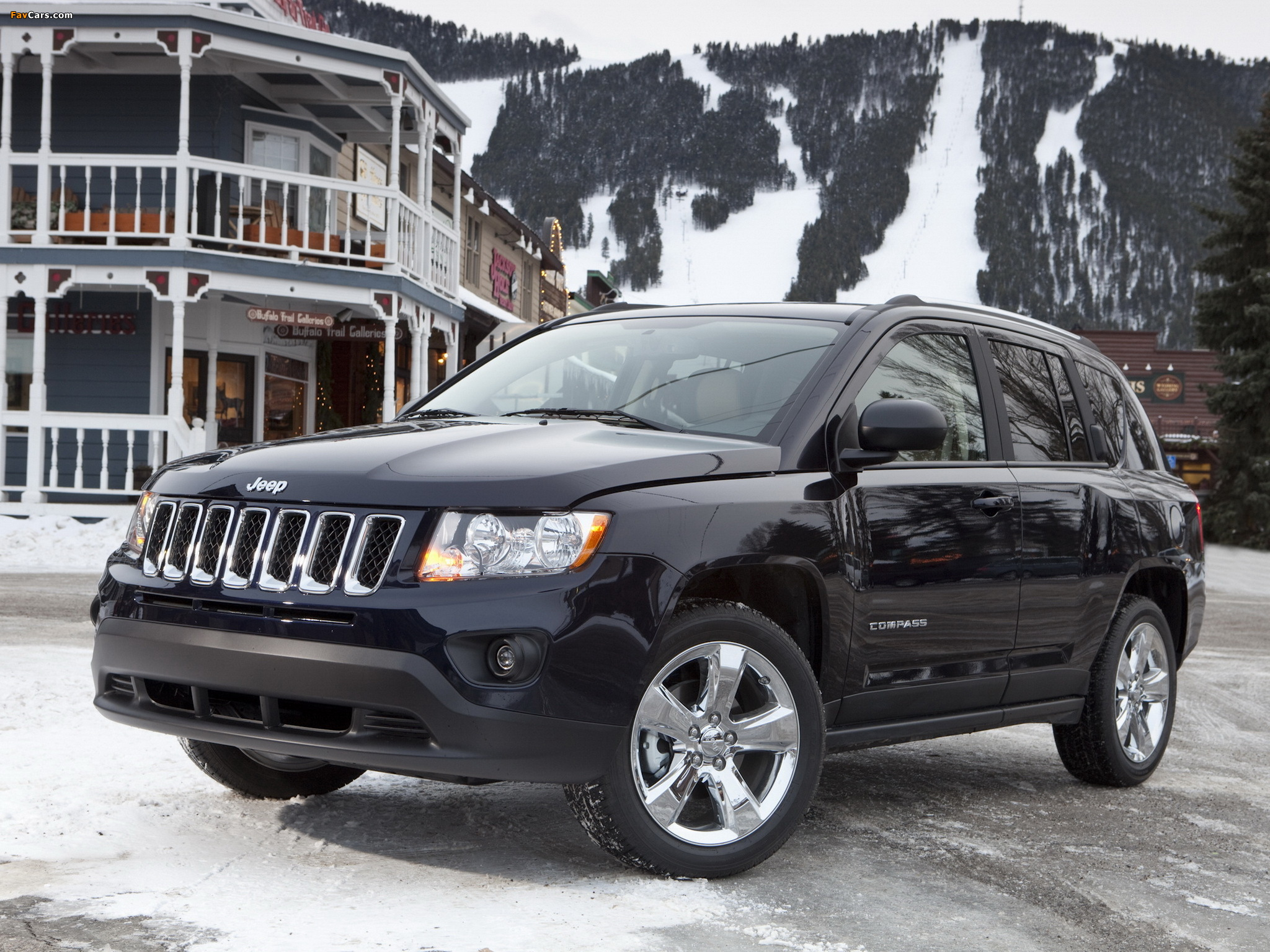 Jeep Compass 2010 wallpapers (2048 x 1536)