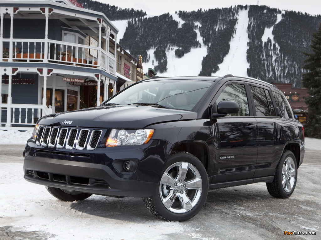Jeep Compass 2010 wallpapers (1024 x 768)
