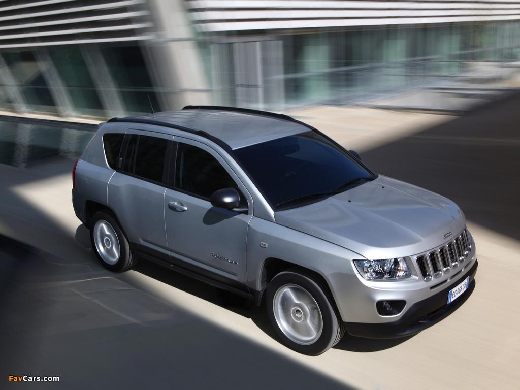 Jeep Compass EU-spec 2011–13 photos (1024 x 768)