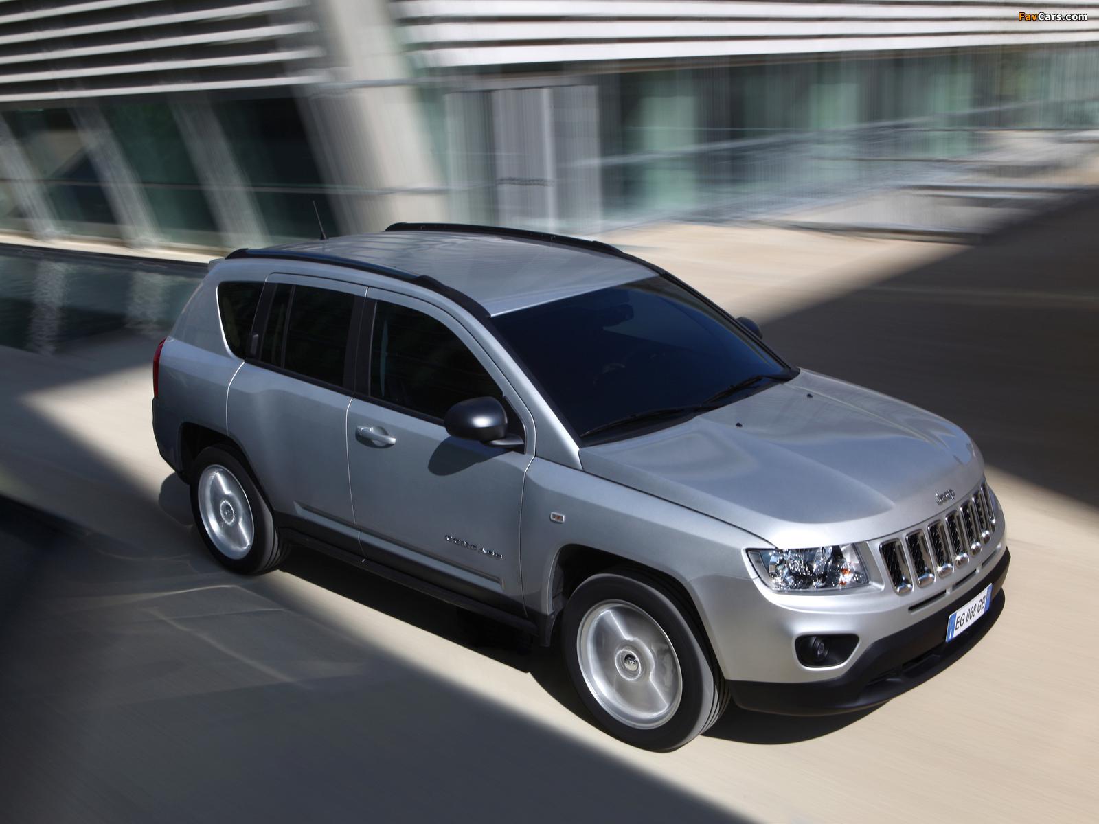 Jeep Compass EU-spec 2011–13 photos (1600 x 1200)