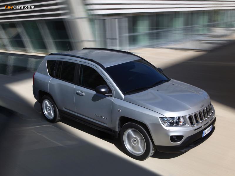 Jeep Compass EU-spec 2011–13 photos (800 x 600)