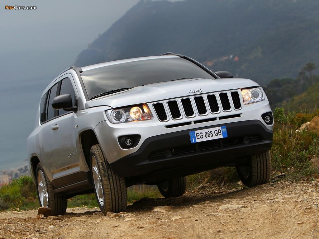 Jeep Compass EU-spec 2011–13 pictures (1024 x 768)