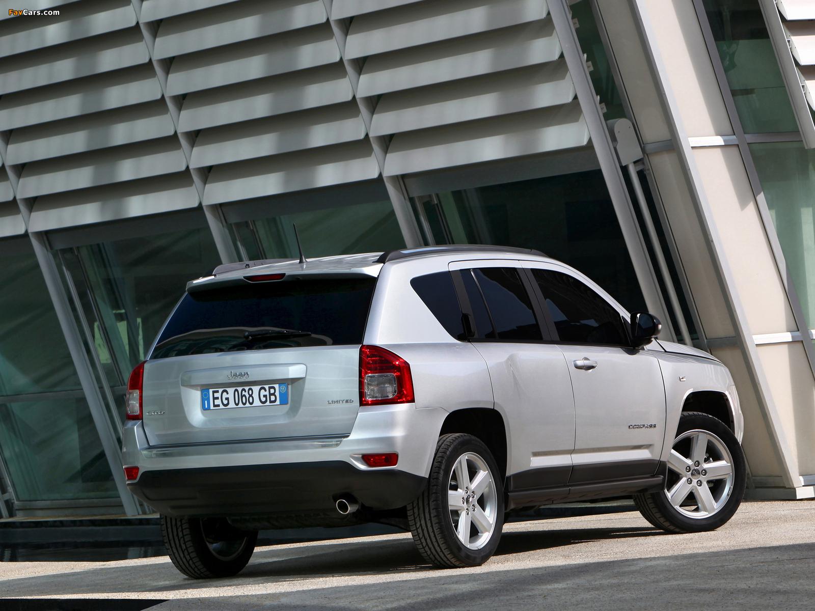 Jeep Compass EU-spec 2011–13 pictures (1600 x 1200)