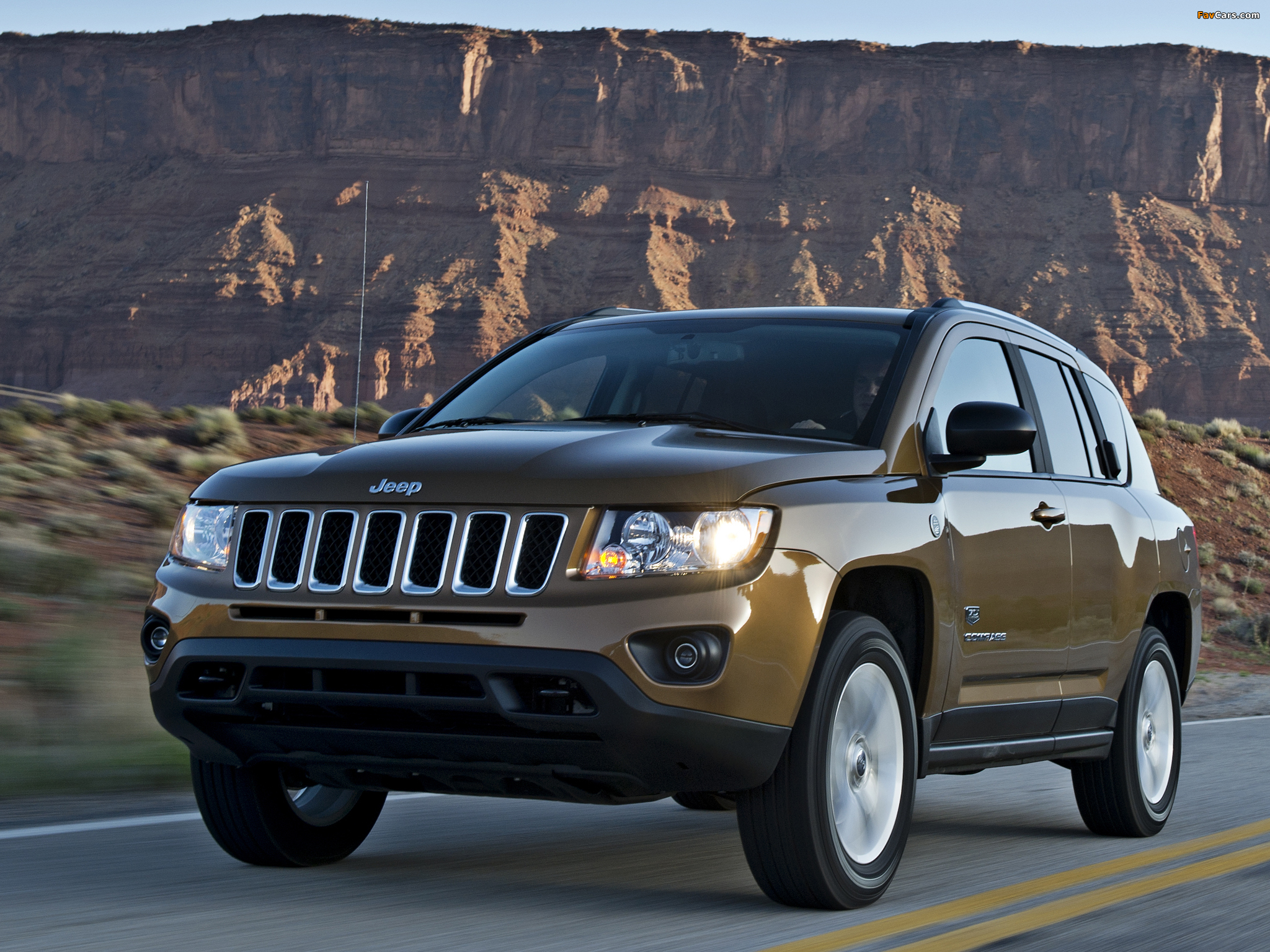Jeep Compass 70th Anniversary 2011 wallpapers (2048 x 1536)