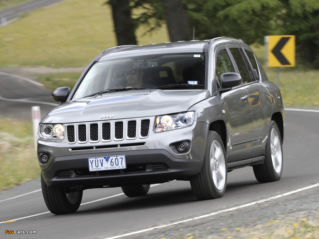 Pictures of Jeep Compass AU-spec 2012 (1024 x 768)