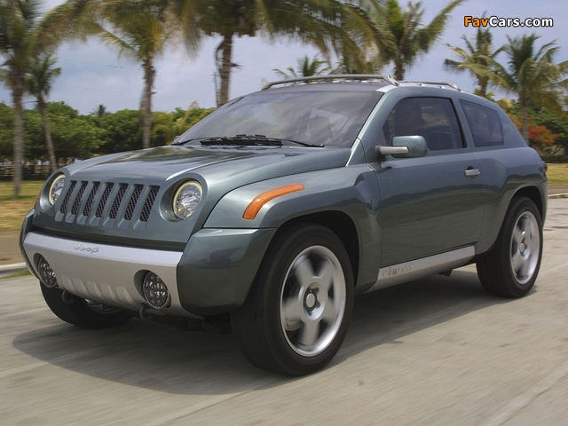 Jeep Compass Concept 2002 wallpapers (640 x 480)