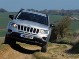 Jeep Compass UK-spec 2011 wallpapers