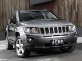 Jeep Compass AU-spec 2012 wallpapers