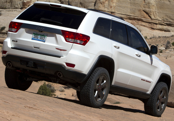 Jeep Grand Cherokee Trailhawk Concept Wk2 2012 Photos
