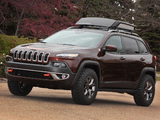 Jeep Cherokee Trail Carver (KL) 2013 wallpapers