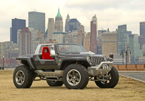 Photos Of Jeep Hurricane Concept 2005