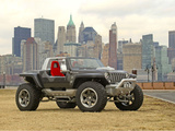 Photos of Jeep Hurricane Concept 2005