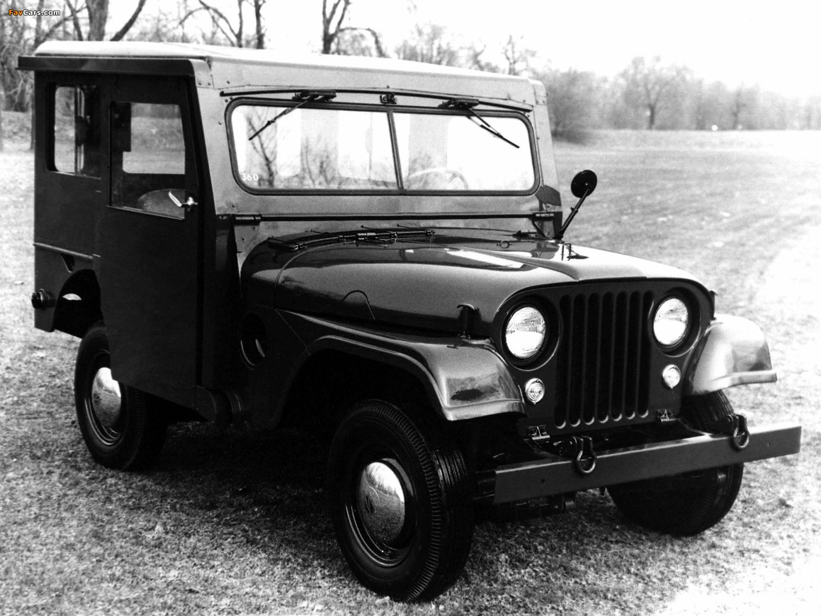 Jeep Dispatcher (DJ3A) 1955–56 photos (1600 x 1200)