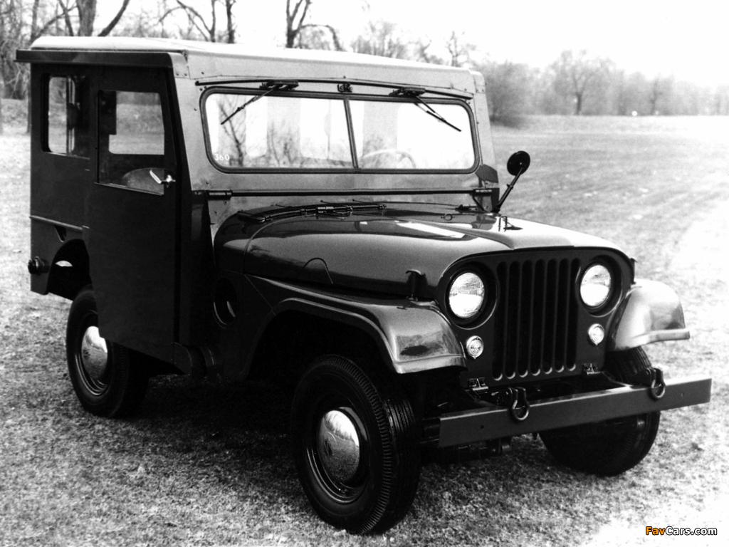 Jeep Dispatcher (DJ3A) 1955–56 photos (1024 x 768)