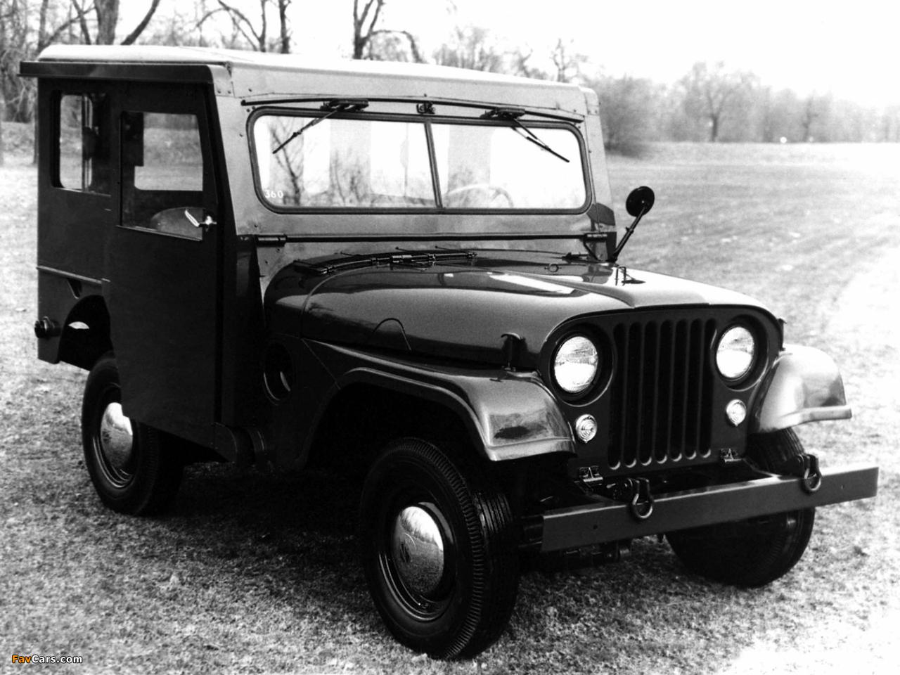 Jeep Dispatcher (DJ3A) 1955–56 photos (1280 x 960)