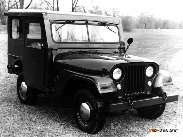 Jeep Dispatcher (DJ3A) 1955–56 photos (640 x 480)