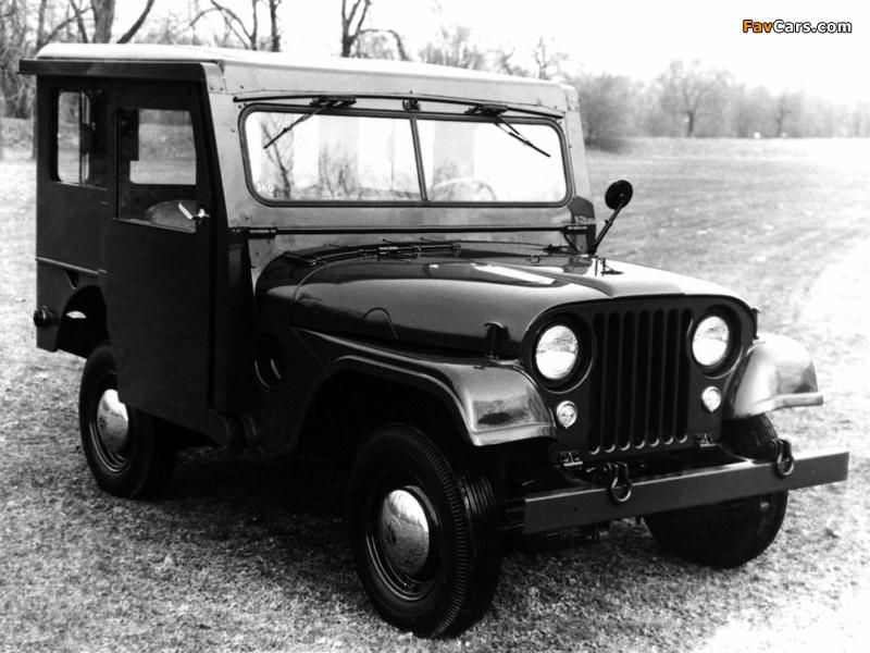 Jeep Dispatcher (DJ3A) 1955–56 photos (800 x 600)