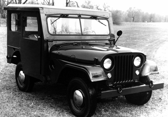 Jeep Dispatcher Dj3a 195556 Photos