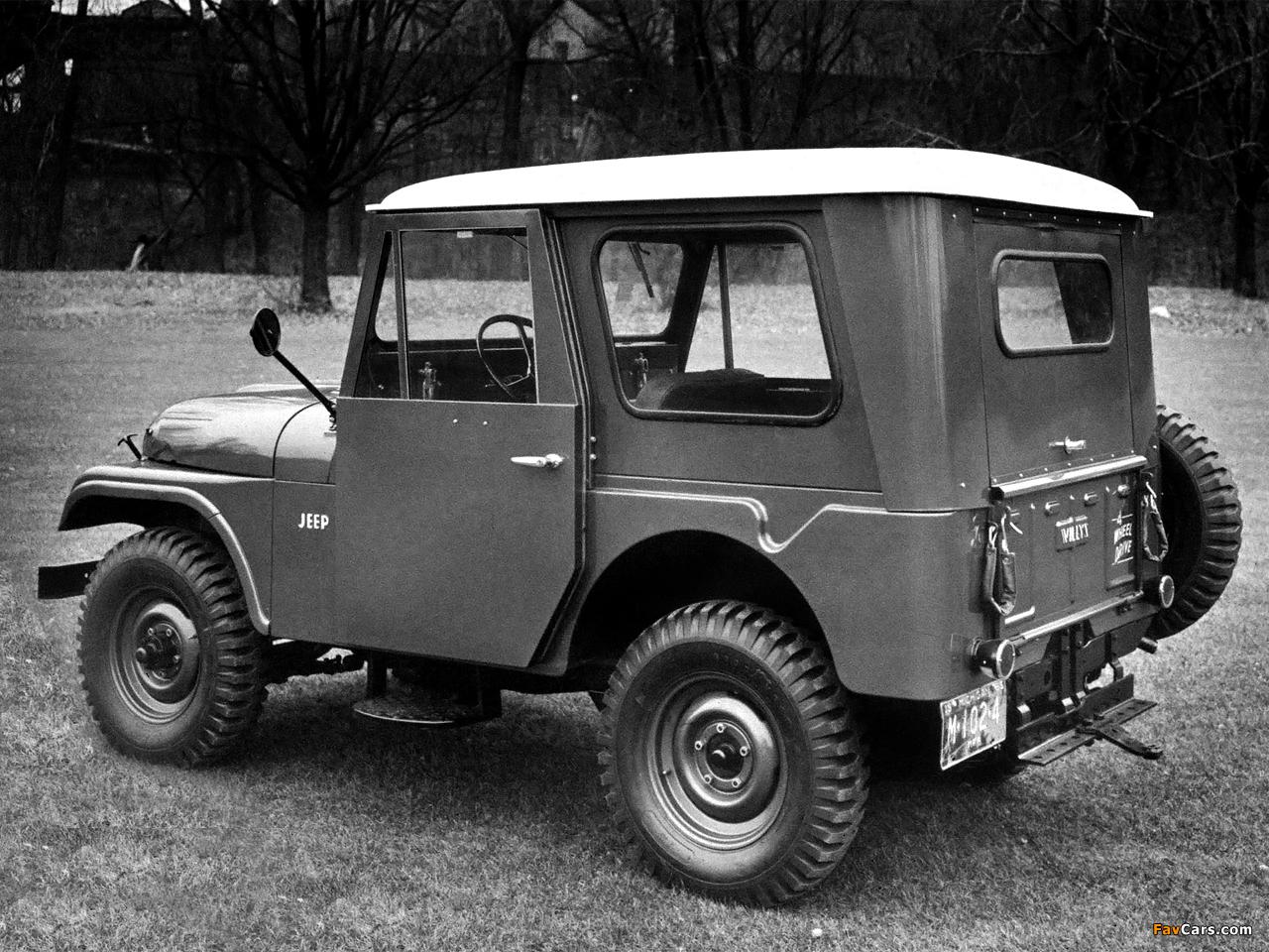 Jeep Dispatcher (DJ3A) 1955–56 pictures (1280 x 960)