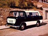 Pictures of Jeep FC-150 Commuter Van by Reutter 1958