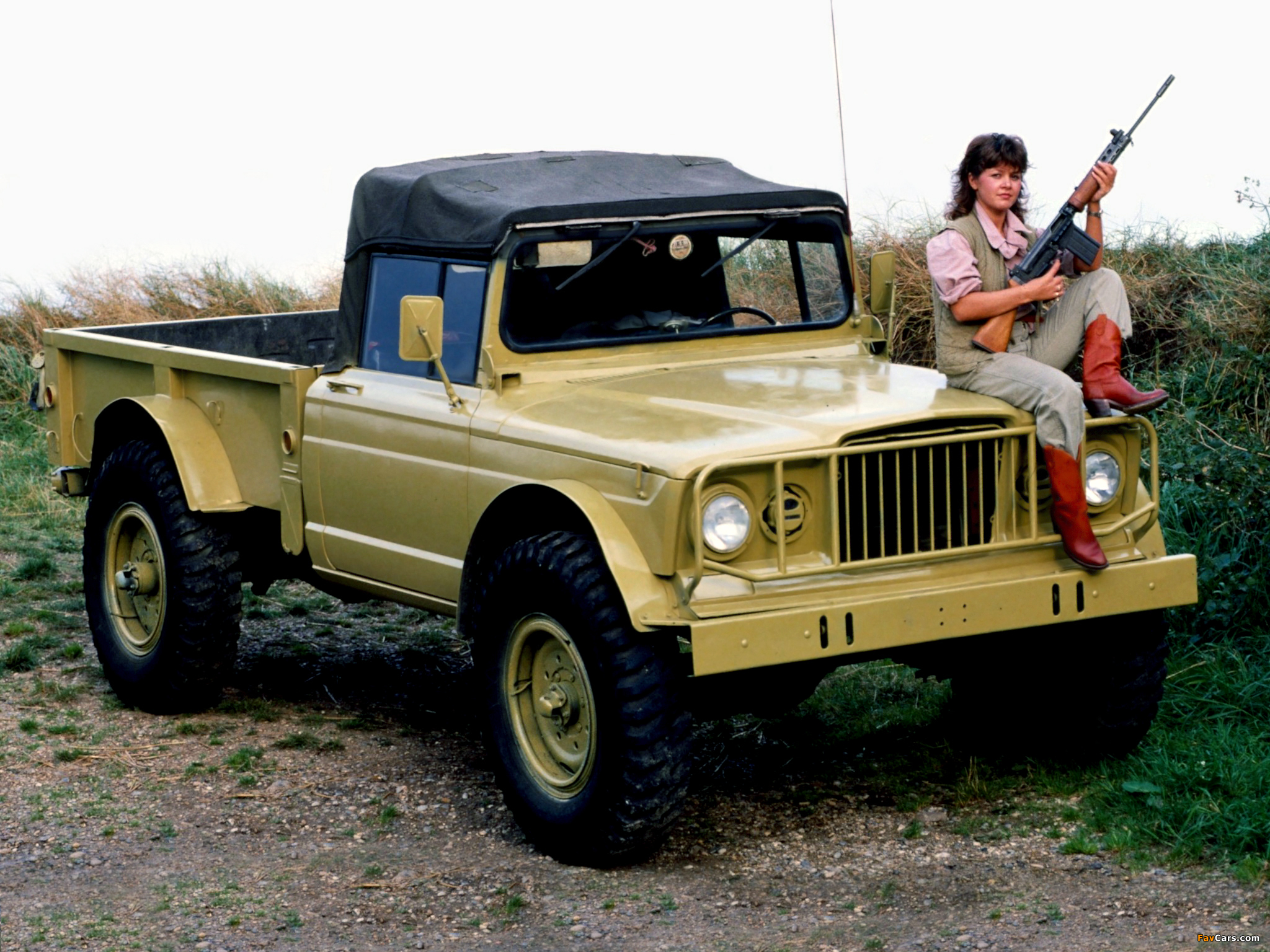 Kaiser Jeep M715 Military Truck 1967–69 wallpapers