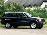 Images of Jeep Grand Cherokee Limited UK-spec (ZJ) 1996–98