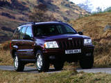 Images of Jeep Grand Cherokee UK-spec (WJ) 1998–2003