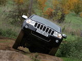 Images of Jeep Grand Cherokee 5.7 Limited UK-spec (WK) 2005–10
