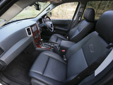 Images of Jeep Grand Cherokee Overland UK-spec (WK) 2008–10