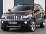 Images of Jeep Grand Cherokee Overland Summit EU-spec (WK2) 2011–13