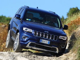 Images of Jeep Grand Cherokee Overland EU-spec (WK2) 2013