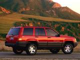 Images of Jeep Grand Cherokee Laredo (ZJ) 1996–98