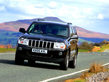 Images of Jeep Grand Cherokee CRD Limited UK-spec (WK) 2005–07