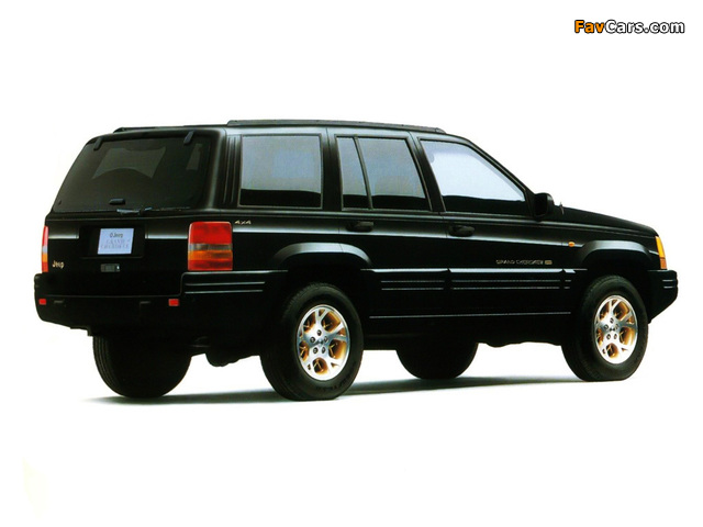 Jeep Grand Cherokee Limited JP-spec (ZJ) 1996–98 images (640 x 480)